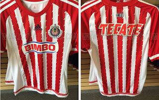 Bocoran Jersey Chivas Guadalajara 2015/2016