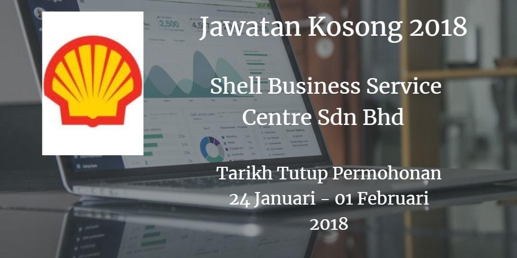 Jawatan Kosong Shell Business Service Centre Sdn Bhd 24 Januari - 01 Februari 2018