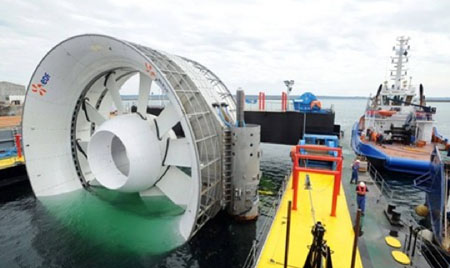 Antipodes: Tidal-power engineering