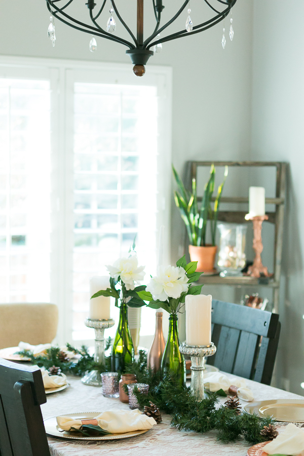 copper dining room style parlor girl