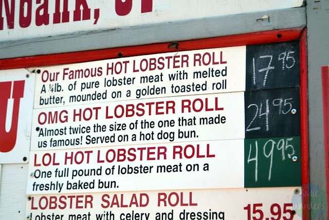 4 lobster roll options at Abbotts