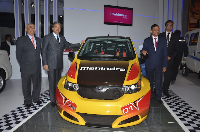 Mahindra e2o Sport at Auto Expo India 2016