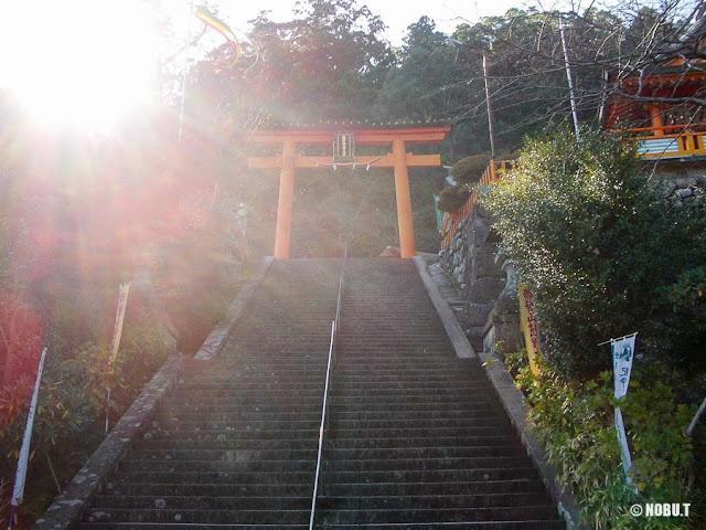 熊野那智大社・二の鳥居