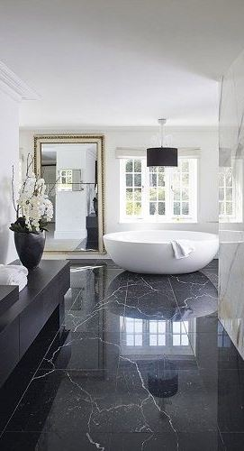 BLACK LUXURY BATHROOM DESIGN IDEAS