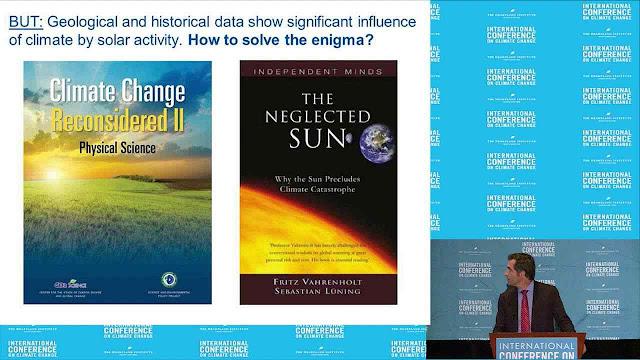 O Dr. Sebastian Lüning apresenta seus livros
