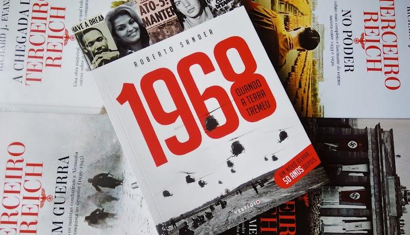[RESENHA #510] 1968: QUANDO A TERRA TREMEU: ROBERTO SANDER