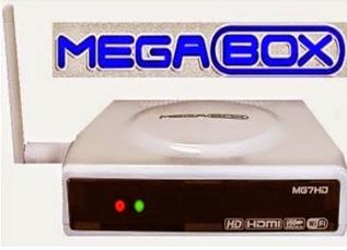 Atualizacao do receptor megabox MG7 HD V