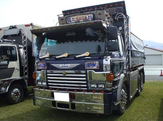 dump truk hino tronton jadul modifikasi