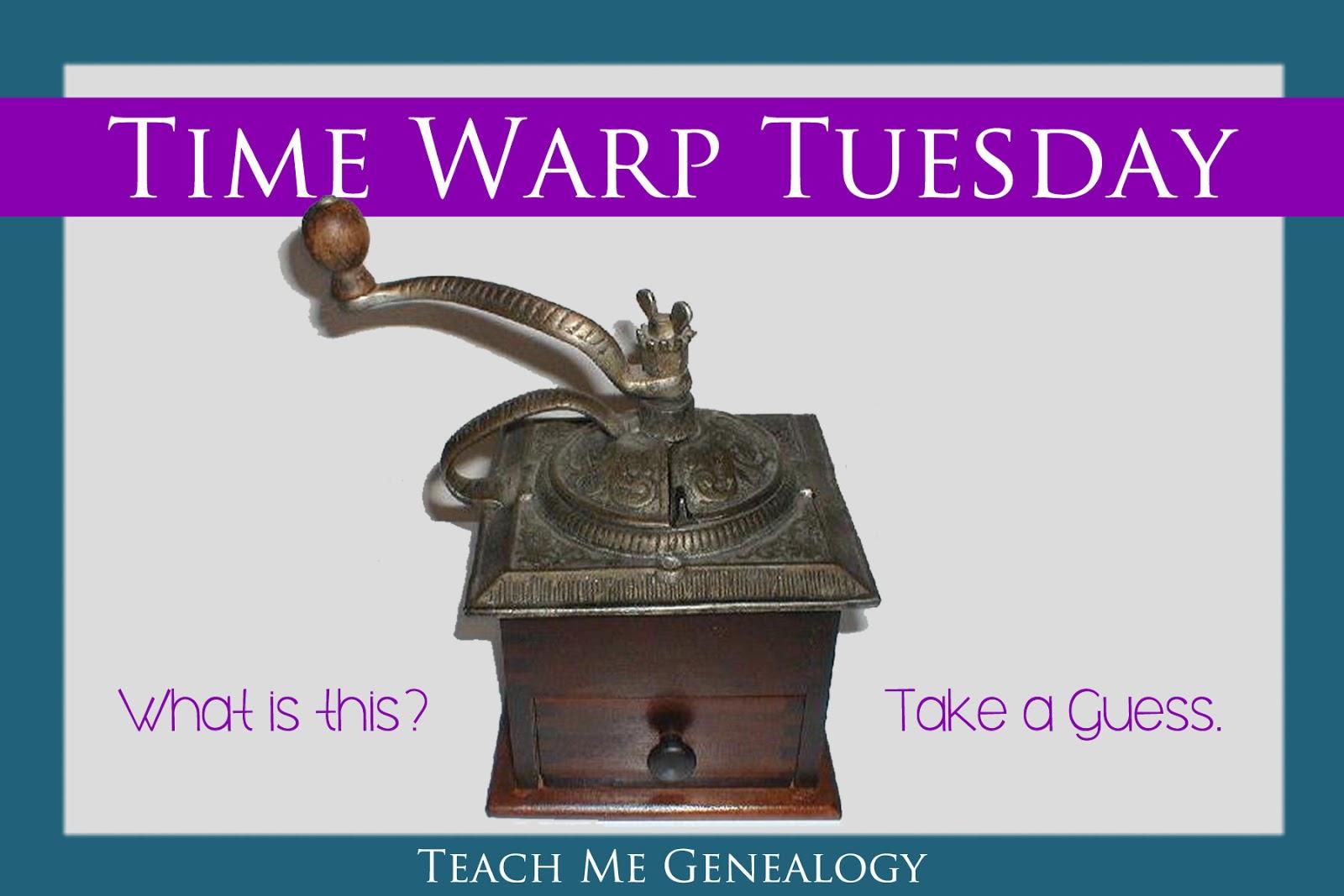 Time Warp Tuesday