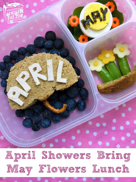 April Showers Bring May Flowers Spring Lunch Recipe