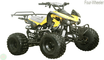 Four-wheeler, quad bike