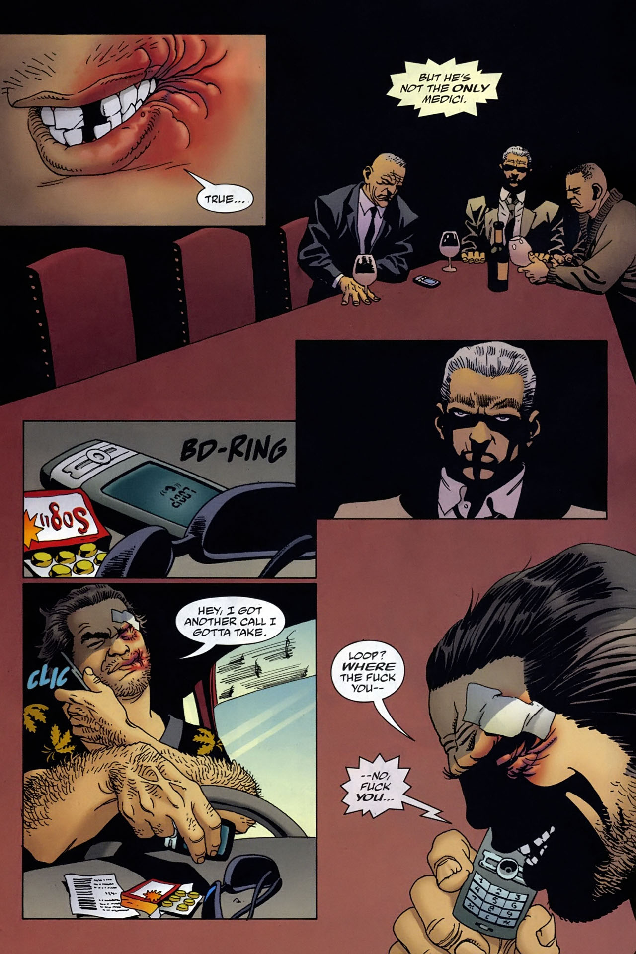Read online 100 Bullets comic -  Issue #96 - 8