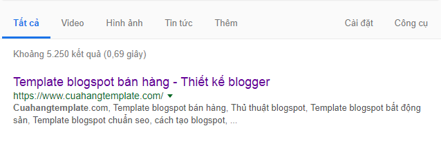 Seo tên miền Blogspot