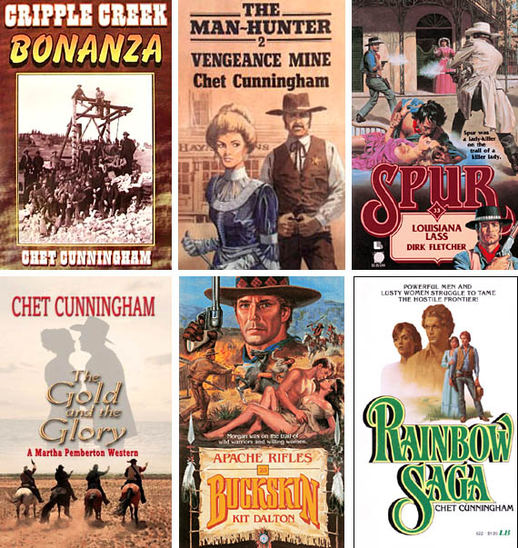 Western Fiction Review Interview Chet Cunningham