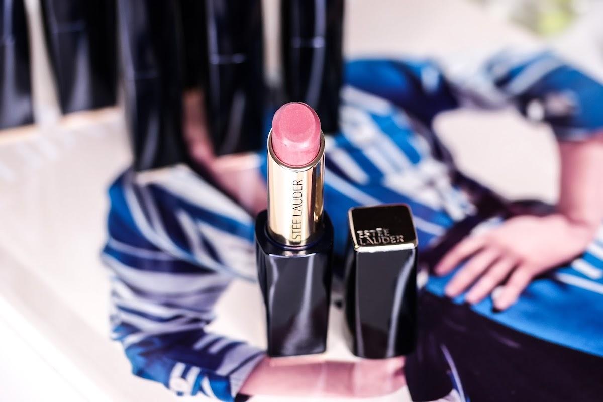 glänzender Lippenstift