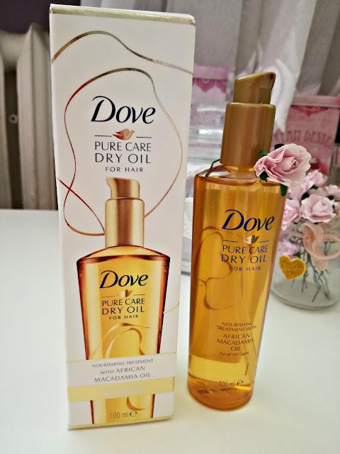 Dove Pure Care Dry Oil - Lekki olejek do wszystkich rodzajów włosów - recenzja