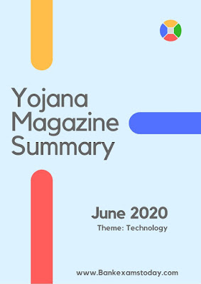 Yojana Magazine Summary: June 2020