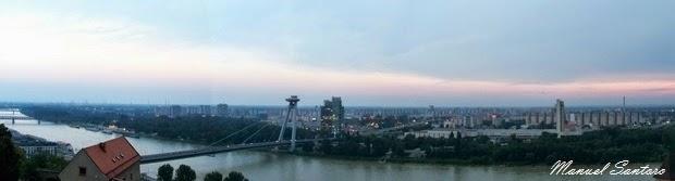 Bratislava, veduta dal castello