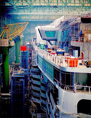 CND's Cruiseblogger: Construction Continues on Quantum of ...