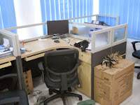T-Shape Cubicle Workstation 02