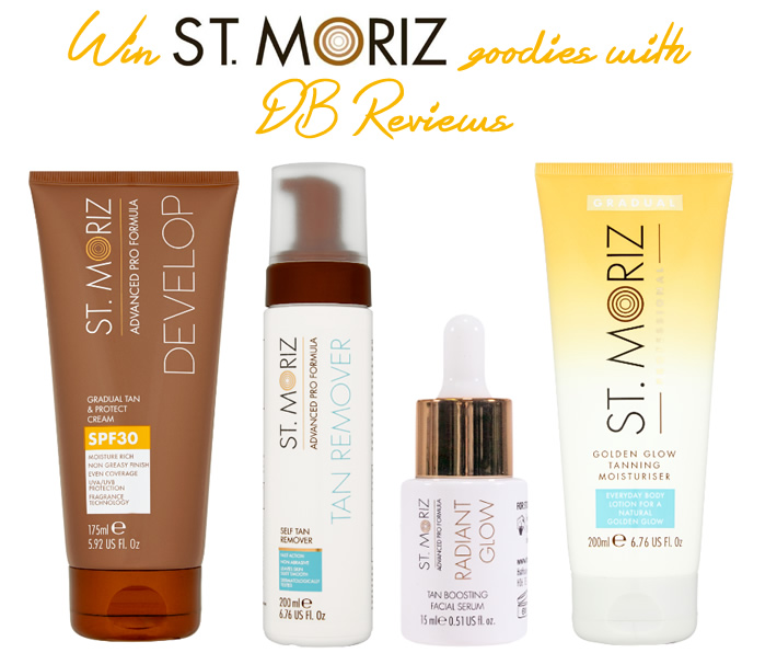 Win St. Moriz's New Self-Tan Range