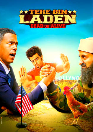 Poster of Tere Bin Laden Dead Or Alive Full Movie Download Hd