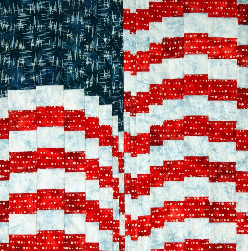 Quilt Inspiration: Free pattern day: Patriotic and flag quilts : american flag quilt - Adamdwight.com