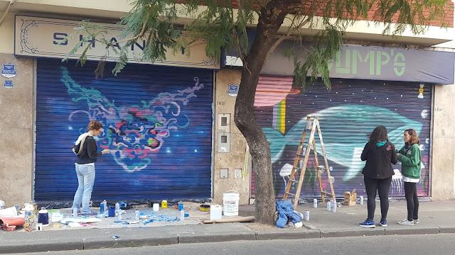 Arte en las Persianas, Street Art, Arte Callejero, Rosario, Argentina, Elisa N, Blog de Viajes, Lifestyle, Travel