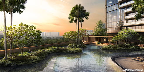 The Andrew Residences - Water Features
