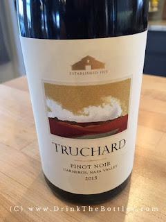 2015 Truchard Vineyards Pinot Noir Label