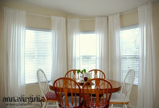 New Curtains - AnnaVirginia Fashion