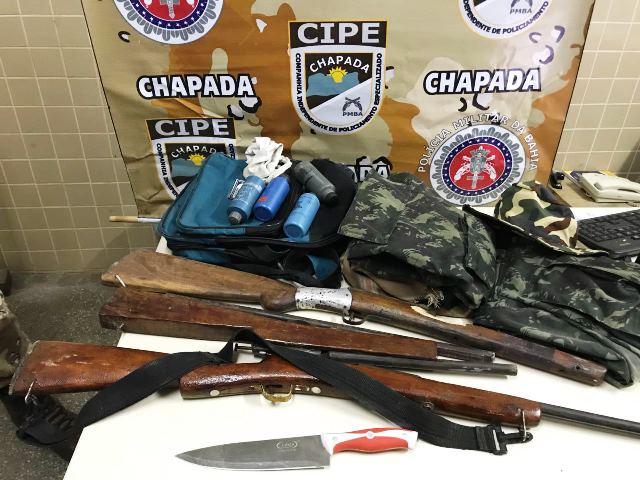 Mucugê: Cipe Chapada liberta mulher de cárcere privado e prende agressor