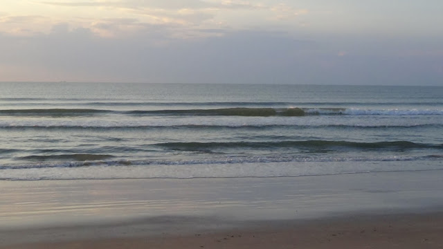 Ocean wave conditions at Cocoa Beach on June 27, 2016