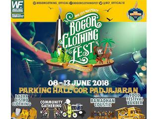 Bogor Clothing Fest 2018