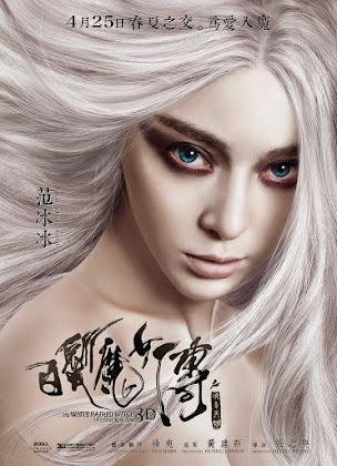 A Bruxa do Cabelo Branco do Reino Lunar