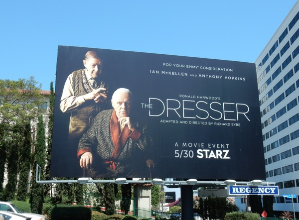 The Dresser Starz movie billboard