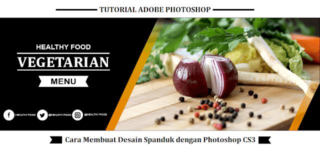 Cara Membuat Desain Spanduk dengan Photoshop CS3, download template spanduk, cara membuat banner dengan photoshop, cara membuat spanduk agar tidak pecah, desain banner dengan photoshop, tutorial photoshop, cara membuat banner sendiri.