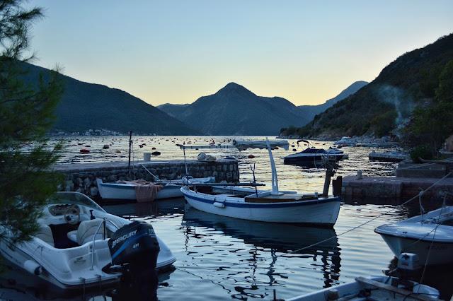 Что посмотреть в Черногории. покушать в Перасте