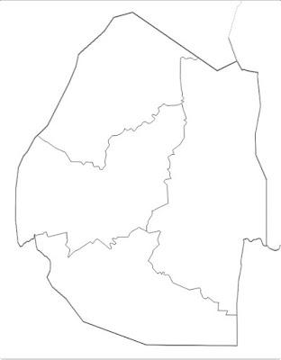 image: Blank white Swaziland map