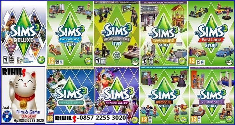 Rihils: Jual Kaset Game PC The Sims Lengkap
