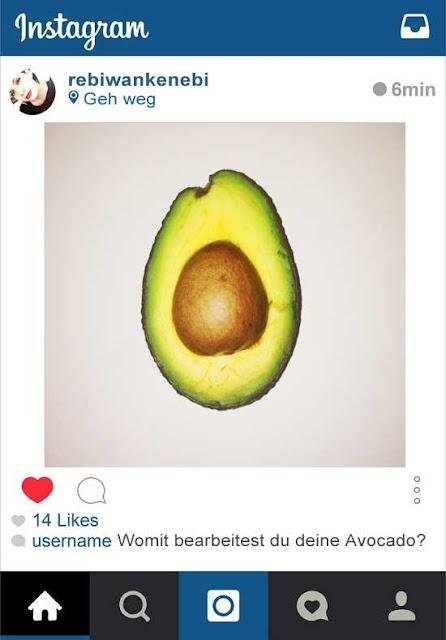 kuriose Kommentare auf Instagram