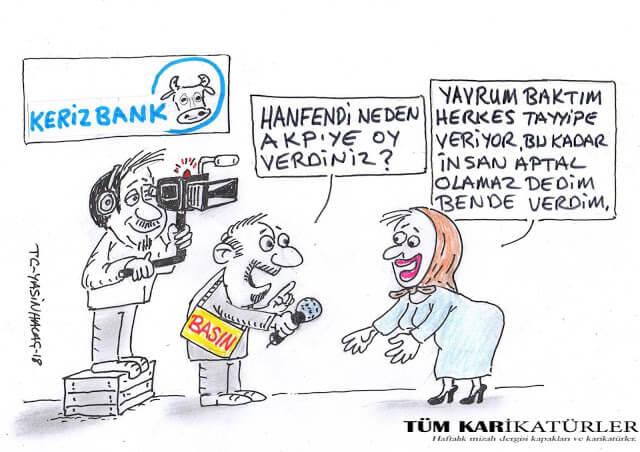 kerizbank karikatürü