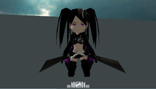 Insane Black Rock Shooter Skin AOTTG