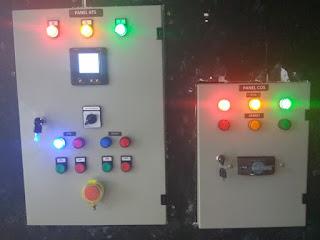 jual panel automatic genset