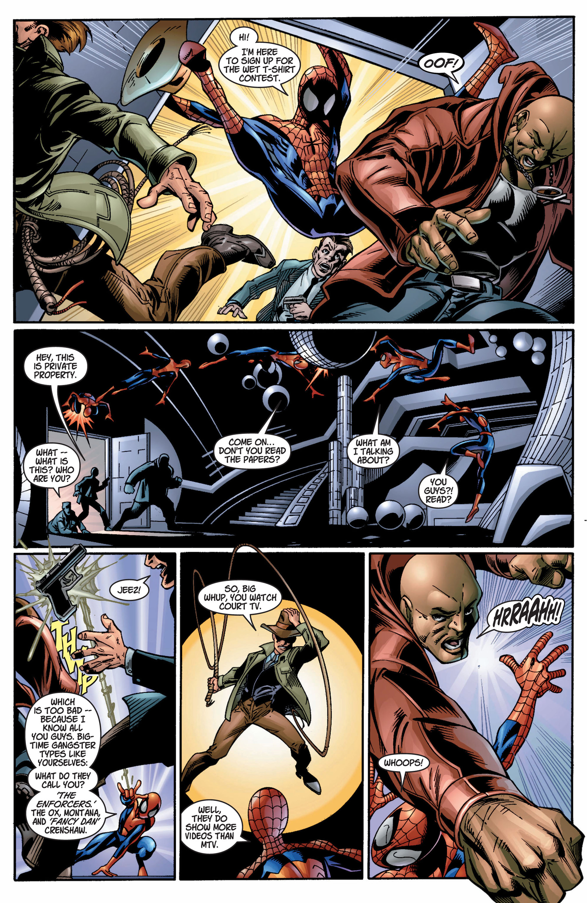 Read online Ultimate Spider-Man (2000) comic -  Issue #9 - 5
