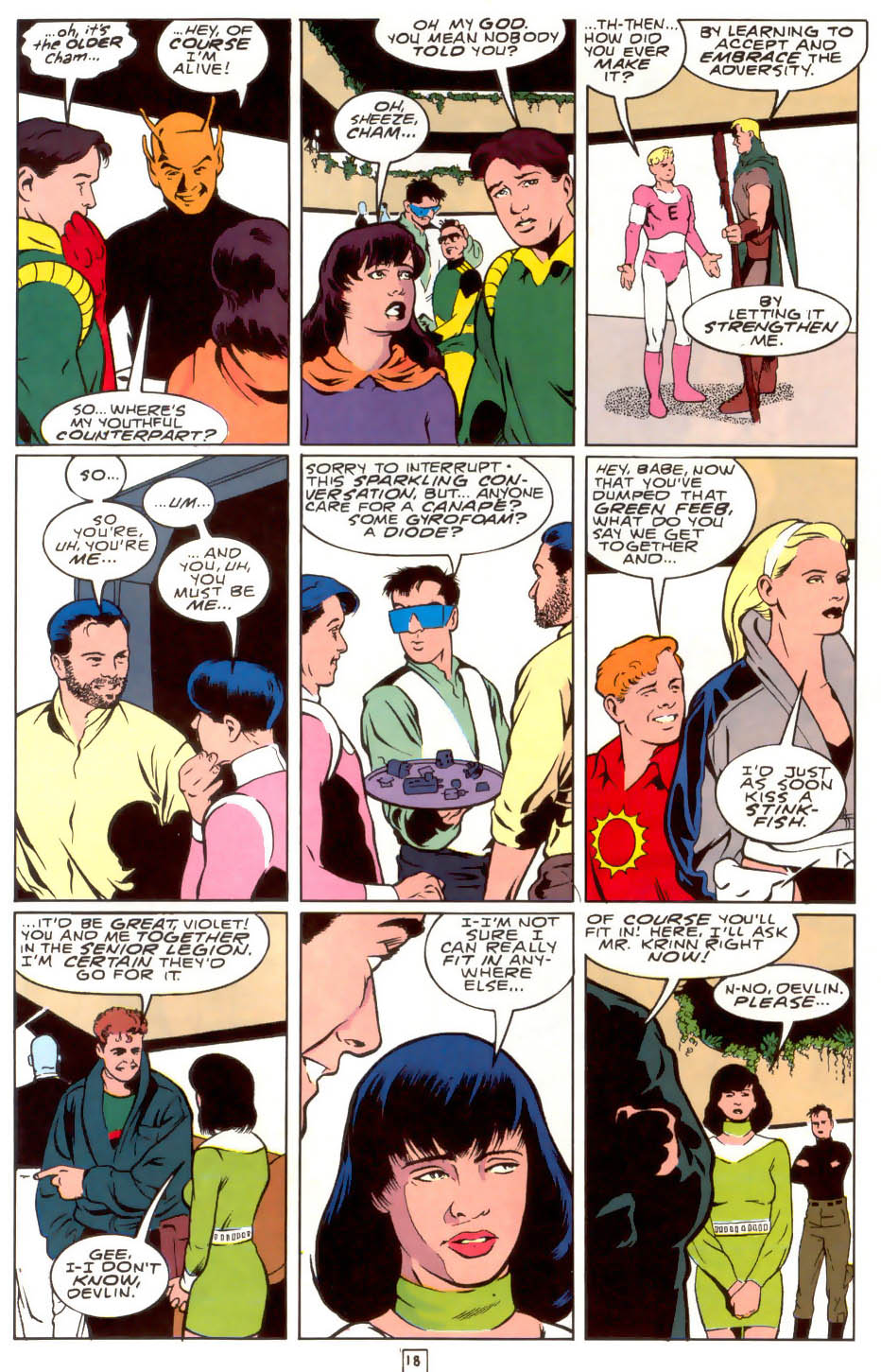 Legion of Super-Heroes (1989) 40 Page 17