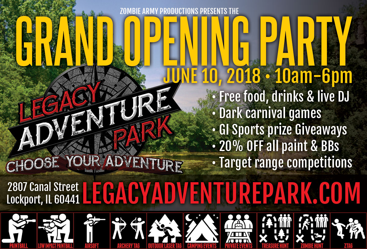 Legacy Adventure Park Grand Opening