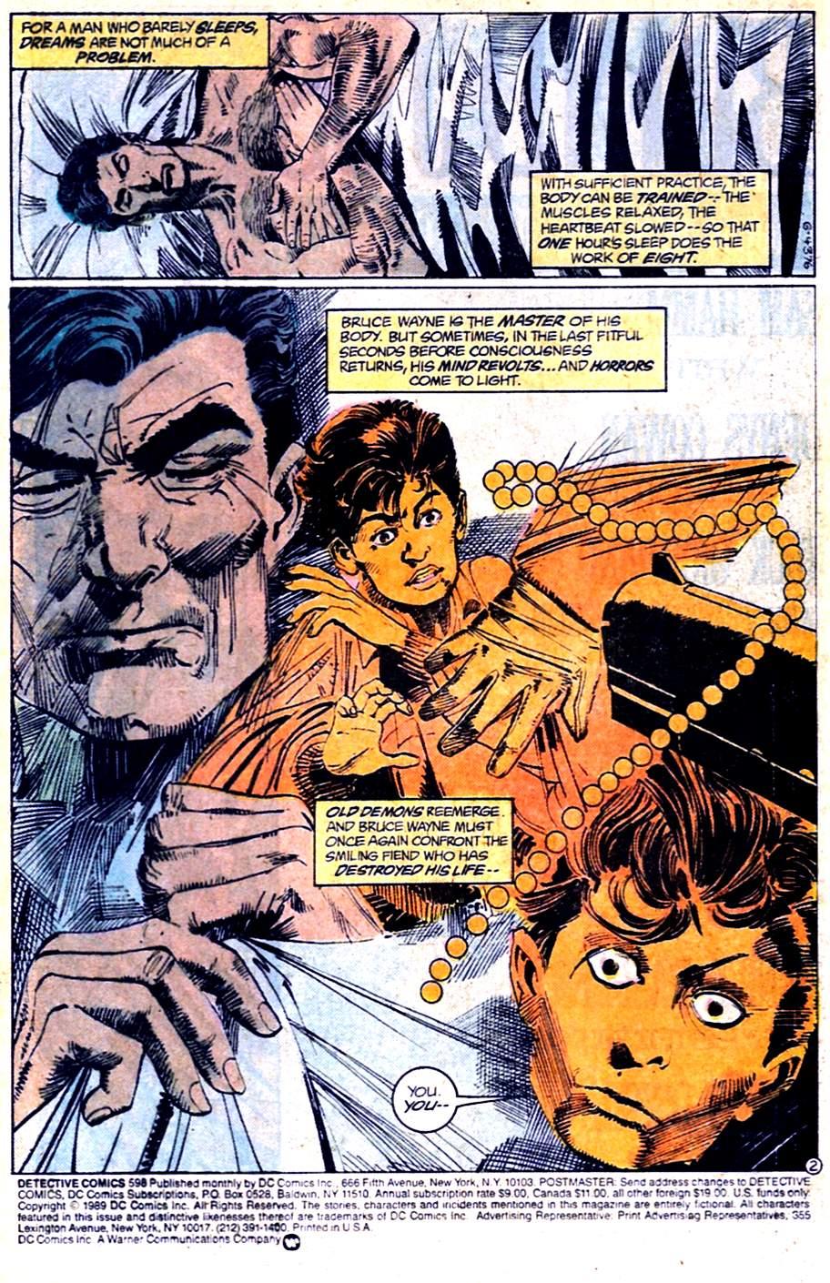 Detective Comics (1937) 598 Page 2