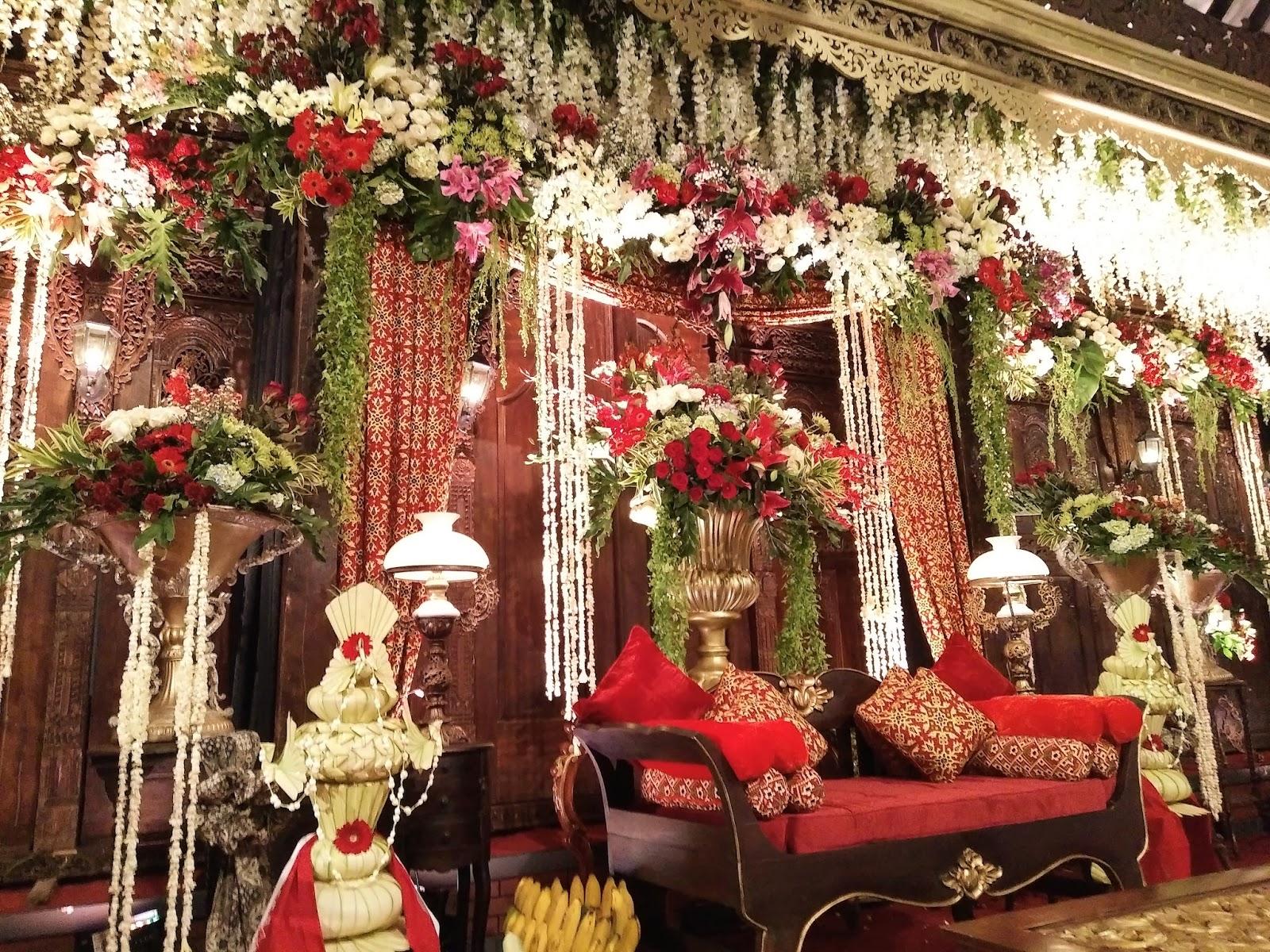dekorasi solo asmoro decoration dekorasi pernikahan rizky
