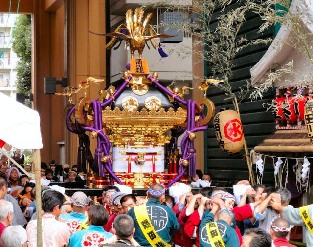 Reitaisai (Ceremony at Shrine) at Sumidagawa Jinja, Tokyo